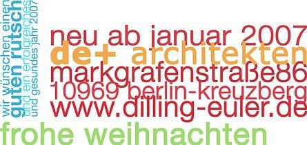 de+ architekten ziehen um