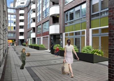 Heinrich-Heine-Forum, Berlin-Mitte: Neustrukturierung Wohnungen