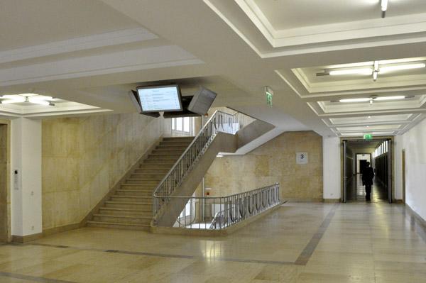 Wegeleitsystem, Bundesministerium der Finanzen, Berlin