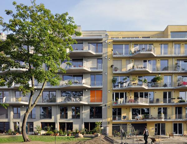 SQF3 – Mehrfamilienhaus Baugruppe, Berlin-Kreuzberg