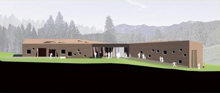 Besucherzentrum Glentleiten