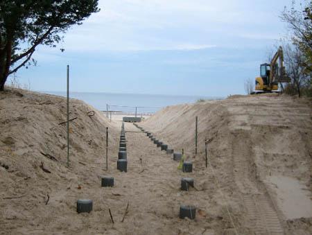 Baubeginn auf Usedom
