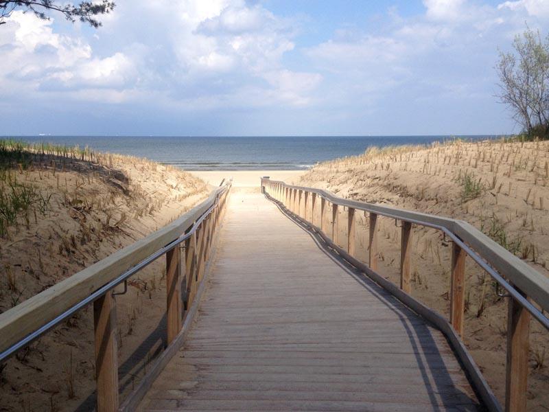 Barrierefreie Strandabgänge Kaiserbäder Usedom