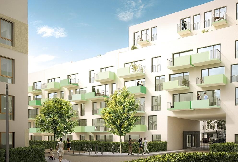 Wohnbebauung Lichtenberg V