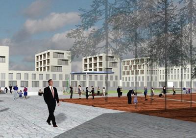 Wohnquartier Lehen, Salzburg 2003