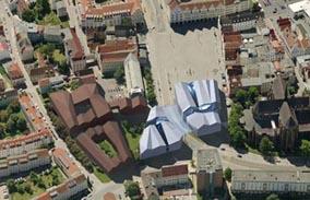 Neuer Markt, Rostock Wettbewerb 1.Preis