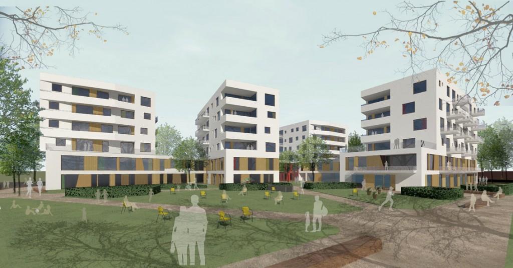 Quartier Berlin-Weissensee – Wettbewerb 1.Preis
