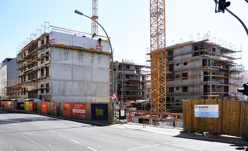 Bebauung Lückstraße: Baustelle I