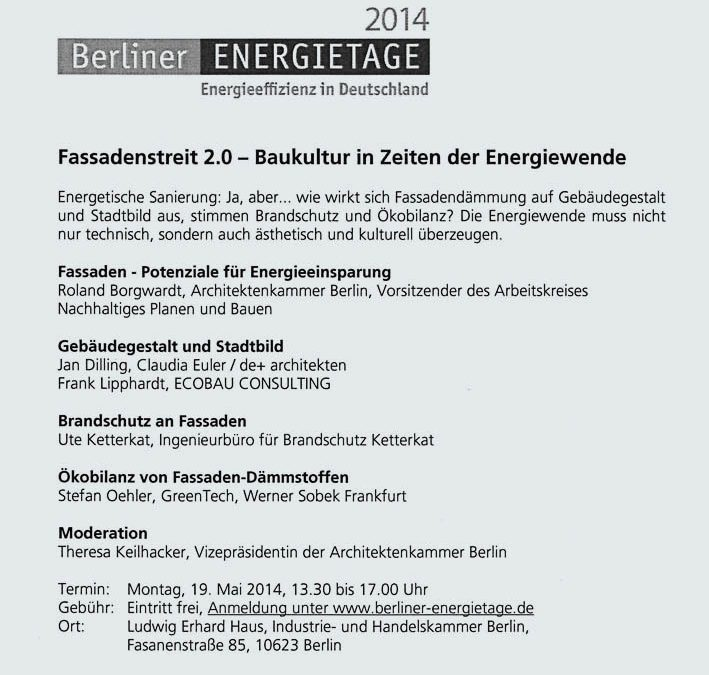 Berliner Energietage 2014