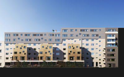 Aachener Straße, Berlin Dachaufstockung und Erweiterung
